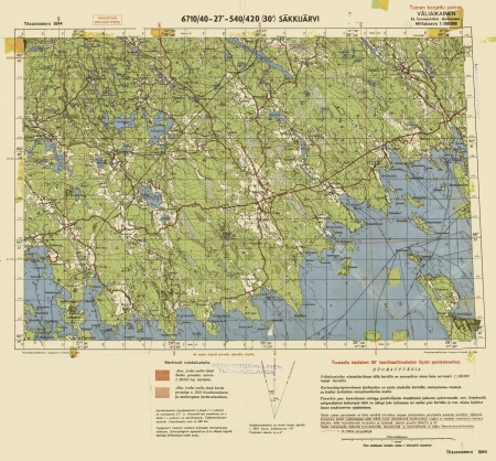 Finland WWII map