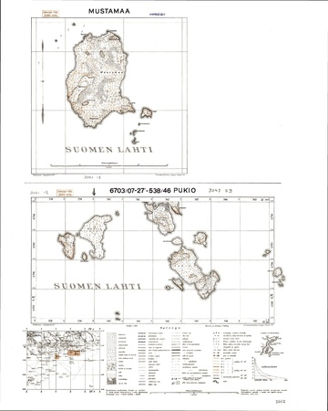 Finland WWII map Stock Photo - 15484782
