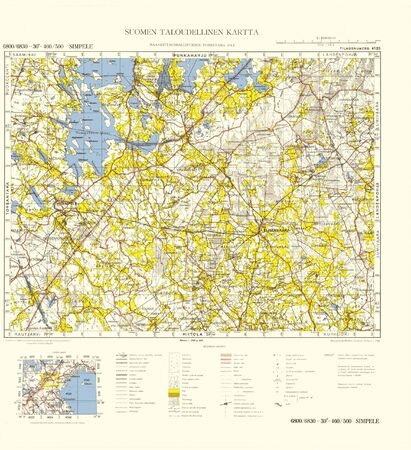 Finland WWII map Stock Photo - 15484799