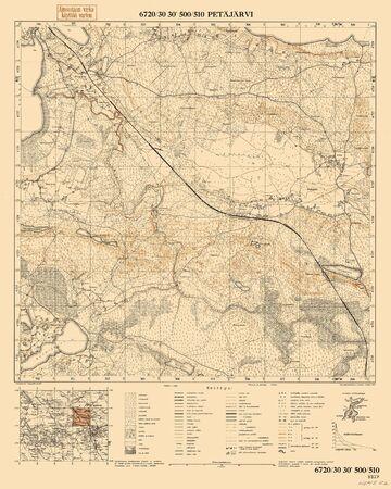 seconda guerra mondiale: Finlandia WWII mappa