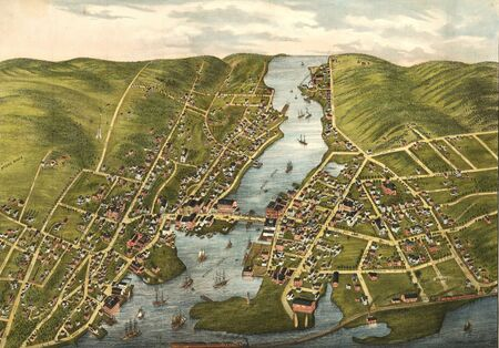 old map Stock Photo - 17144972