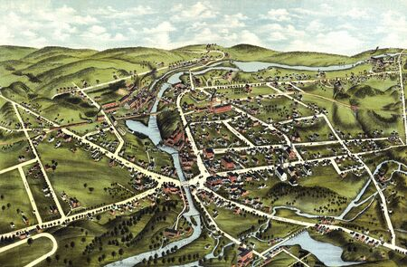 old map Stock Photo - 17144966