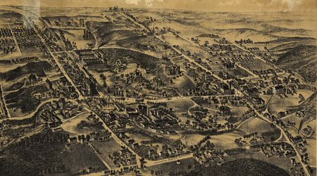 old map Stock Photo - 17144975