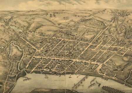 old map Stock Photo - 17144978