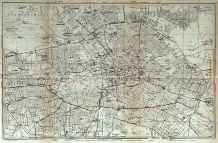 Berlin old map
