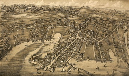 old map Stock Photo - 17144968