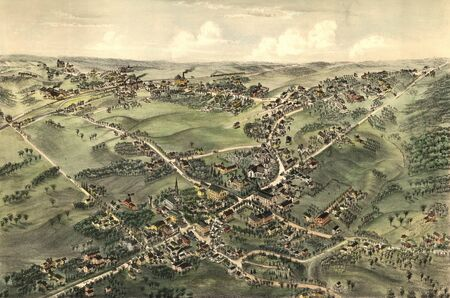 old map Stock Photo - 17227550