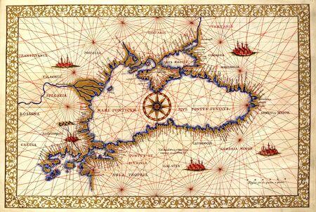 Europa vecchia mappa