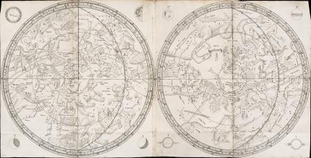 Vintage stellar map Stock Photo - 18046190