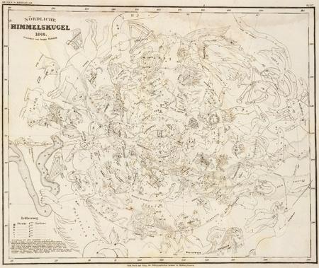stellar: Vintage stellar map