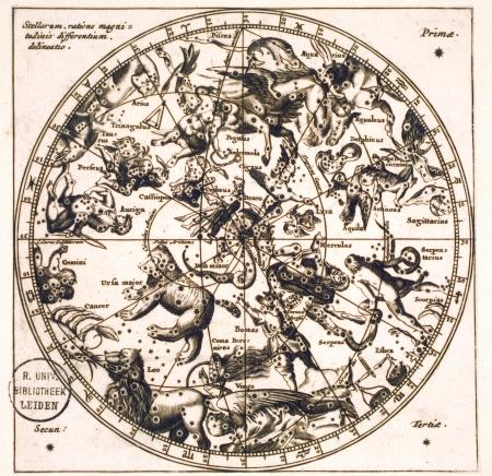 ビンテージ恒星地図