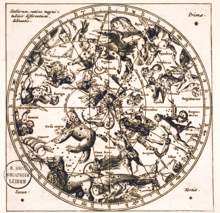 Vintage stellar map Stock Photo - 18018549