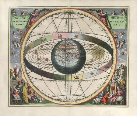 天文学的なチャート、ヴィンテージ 写真素材 - 18046201