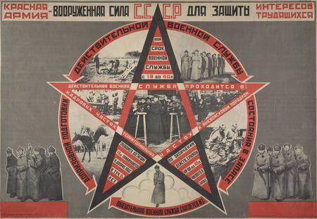 propaganda: Communist Propaganda poster.Period before 1930