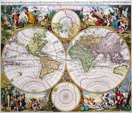 Antique Map 1686