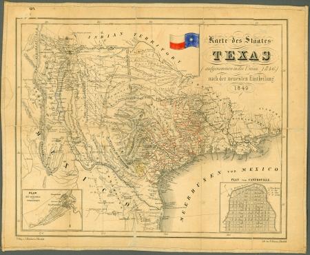 mexiko karte: alte Karte