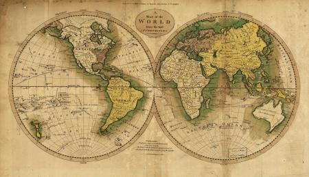 russia map: Antique Map Editorial