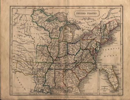 old map Редакционное