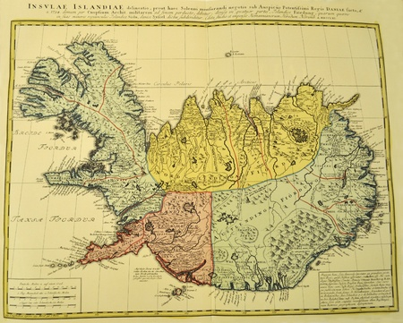 Iceland old map