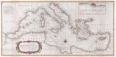 Mediterranian vecchia mappa