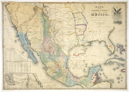 Mexico old map