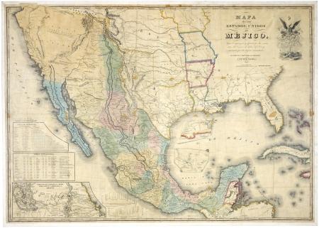 körfez: Meksika eski haritası