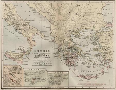 serbia: Balkans old map