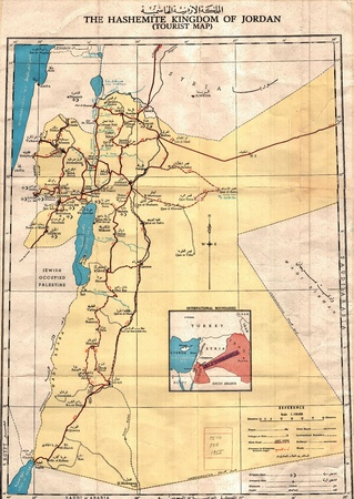 Jordan Kingdom old map
