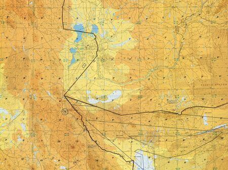 pilotage: Tactical pilotage chart Afghanistan. Fragment