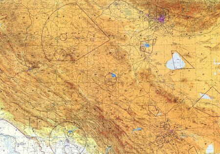 pilotage: Iran and Iraq  tactical pilotage chart . Fragment
