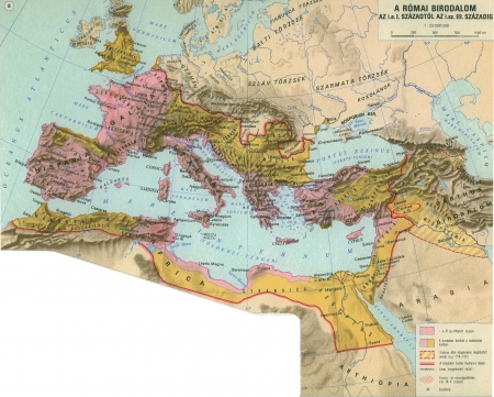 austria map: Roman Empire