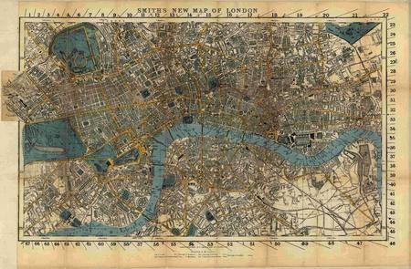 Londres vendimia mapa