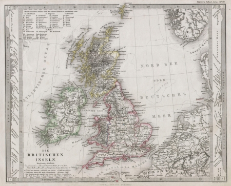 british isles: British Isles vintage Editorial