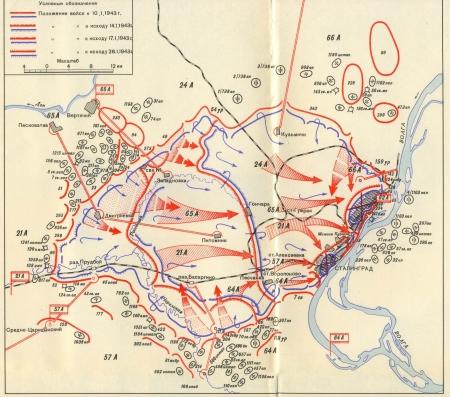 Schlacht Um Stalingrad Karte.Stalingrad Sowjetische Militäradministration Karte 1942 Lizenzfreie
