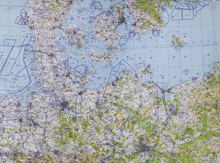 pilotage: Western Europe tactical pilotage chart . Fragment Editorial