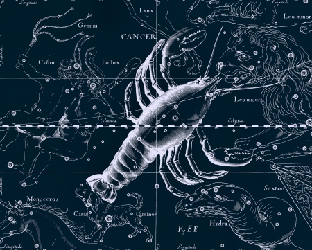 Constellation vintage map Stock Photo - 18603745