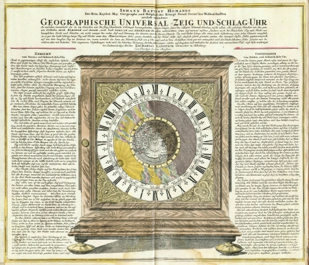 Astronomical chart vintage. Time and Zodiac Stock Photo - 18603761