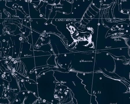 Constellation vintage map Stock Photo - 18604122