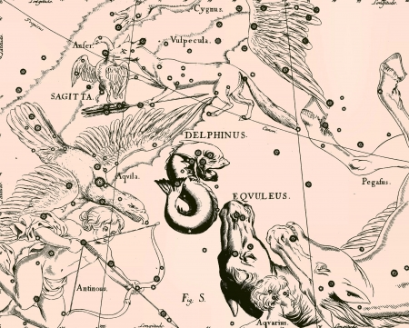 Constellation vintage map Stock Photo - 18604976