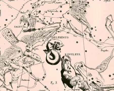 Constellation vintage map Stock Photo - 18604976