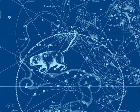 Constellation vintage map Stock Photo - 18727010