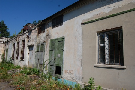 alienation: Abandoned military base  near Chernobyl alienation area Ukraine,Radio communication centre
