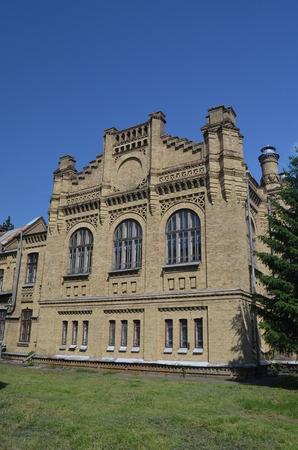 historica: KIEV, UKRAINE - 26 MAY 2014 Historica area of the campus of Polytechnic University  May 26 , 2014 in Kiev, Ukraine