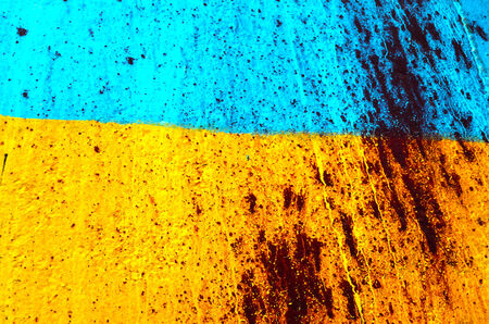 nazi flag: KIEV, UKRAINE - JULY 15, 2014. Ukraine flag graffiti .Civil War in Ukraine. July 15, 2014 Kiev, Ukraine