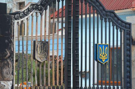 nationalists: KIEV, UKRAINE - February 2, 2015: Ukrainian nationalists of Battalion \\\\\\\\\\\\\\\\\\\\\\\\\\\\\\\\\\\\\\\\\\\\\\\\\\\\\\\\\\\\\\\Aydar\\\\\\\\\\\\\\\\\\\\\\\\\\