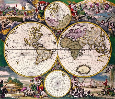 Antique Map Redakční