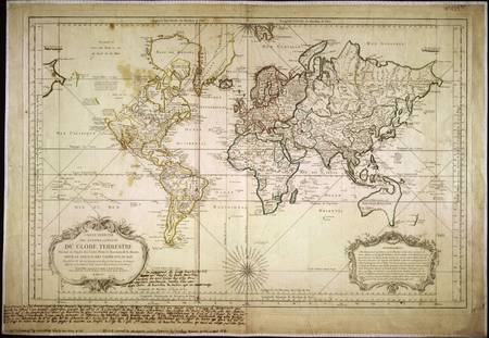 wall maps: Vintage World Editorial