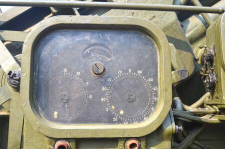 september 2: KIEV, UKRAINE - SEP 2, 2015: Soviet air-defense cannon near Technical History Museum of National Polytechnic University on September 2, 2015 in Kiev, Ukraine