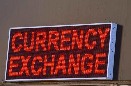 monetary devaluation: KIEV, UKRAINE - October 15, 2015: Money exchange office.1-st day after defolt Editorial