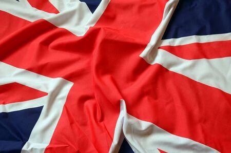drapeau anglais: Drapeau du Royaume-Uni, drapeau britannique, Banque d'images